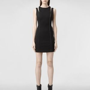 Allsaints IPA body con black dress NWT UK 6 US 2
